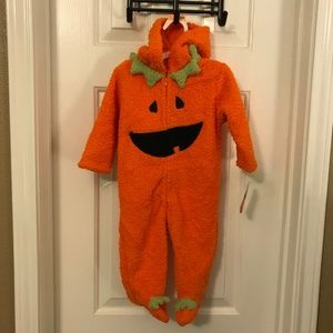 Baby Halloween Pumpkin Onesie Costume 9 Months NWT